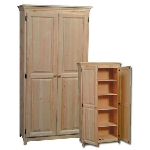 Double Pantry Doors