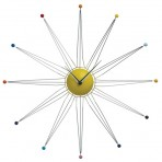 Wired Star Clock
