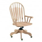Deluxe Windsor Arm Desk Chair