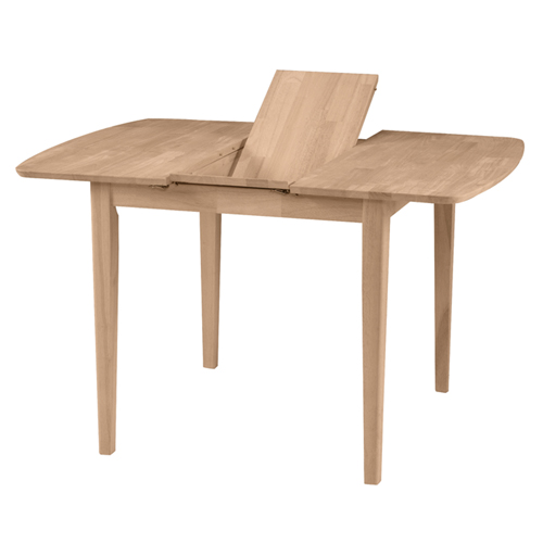 36″ x 36″ Butterfly Extension Table