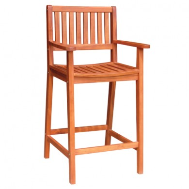 30″ Barstool with Arms