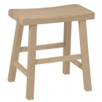 18″ Saddle Seat Stool