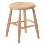 18″ Scoop Seat Stool