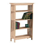 Mission Bookcase [48″h ]