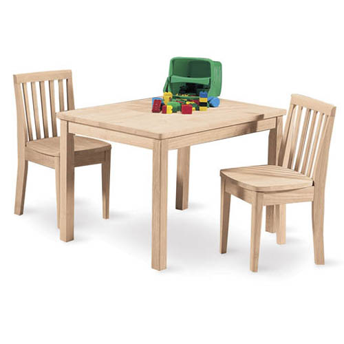 Mission Juvenile Table & (2) Chairs