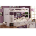 Emily Twin/Full Staircase Bunk