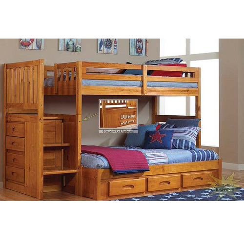 Elton Twin/Full Staircase Bunk [Mission]