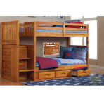 Elton Twin/Twin Staircase Bunk [Mission]