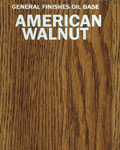 American Walnut on Oak
