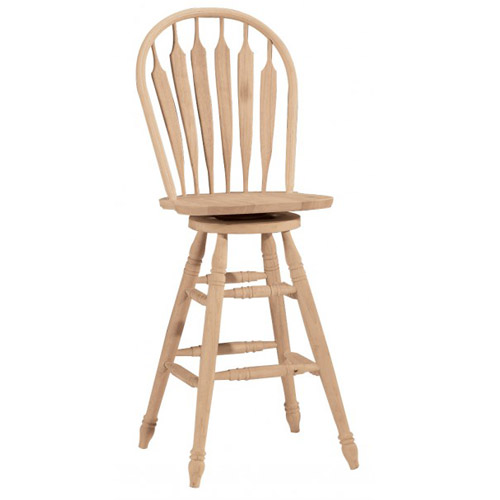 30″ Steamboat Swivel Stool