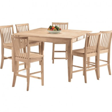 Square Gathering Extension Table