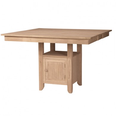 Gathering Butterfly Leaf Table with Storage Base