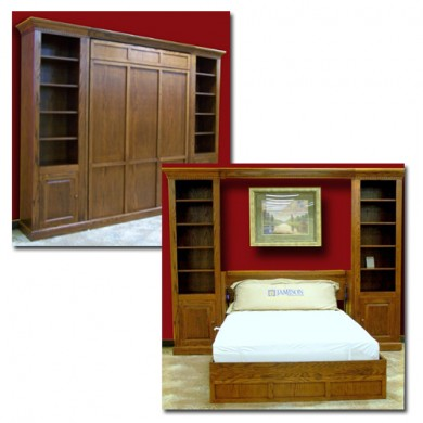 Classic Trim Wall Bed Grouping