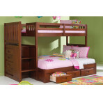Eden Twin / Full Staircase Bunk