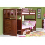 Eden Twin / Twin Staircase Bunk