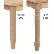 54″ Square Table [Extension Option]