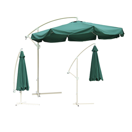 10′ Offset Umbrella with Stand