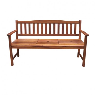 Madison Bench [Three Seater with Pop-Up Table]