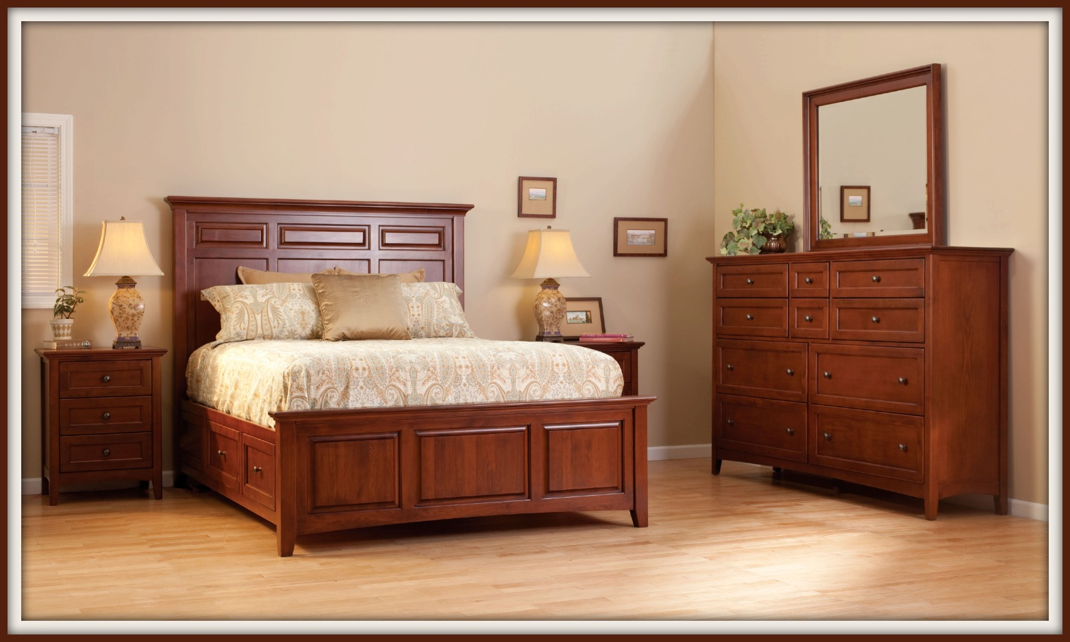 Mckenzie Bedroom Furniture Real Wood Generations Home Furnishings