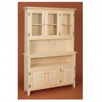 Huntboard Buffet & Hutch [3 Door]