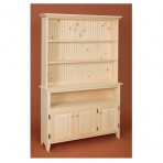 Huntboard Open Hutch