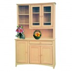 48″ Shaker Buffet [Optional Hutch]