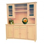 64″ Shaker Buffet [Optional Hutch]