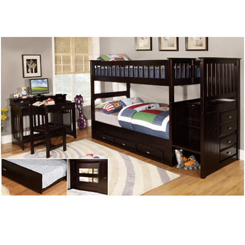 Ethan Staircase Twin/Twin Bunk