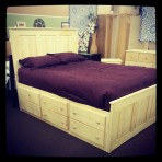 Mill Creek Captains Platform Bed