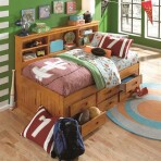 Elton Bookcase Day Bed [Twin]