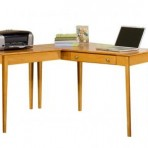 Alder Shaker Desk [with Return]