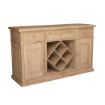 Sturbridge Buffet w/ Wine Rack