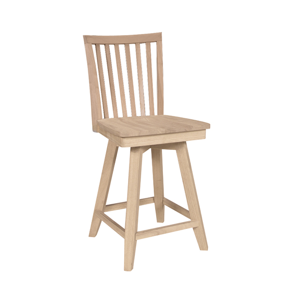 Mission Swivel Stool [24″ & 30″]