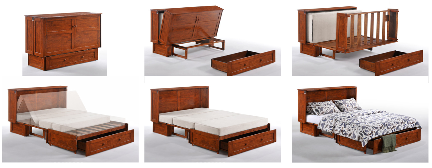 Murphy Mandalay Cabinet Bed W Matt Generations Home