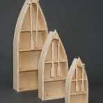 Amish Boat Bookcase