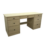 Brooks Seven Drawer Desk