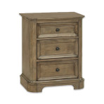 Stonewood Three Drawer Nightstand [Wide]