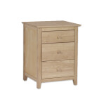 Brooklyn Three Drawer Nightstand