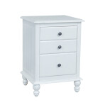 Cottage Three Drawer Nightstand