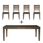 Luxe Extension Table Set
