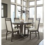 Luxe 48″ Round Dining Set