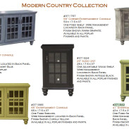 Modern Country Console [42″]