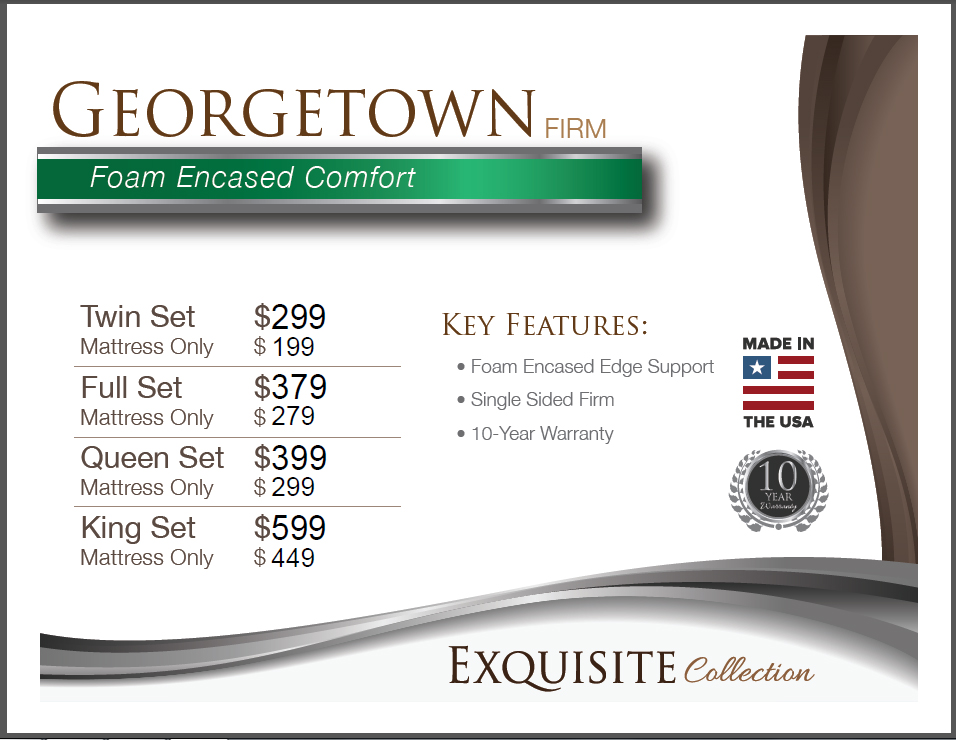 Georgetown Price Card for Web
