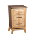 Addison Three Drawer Nightstand [18″]