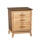 Addison Three Drawer Nightstand [23″]