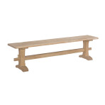Live Edge Trestle Bench [72″]
