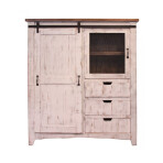 Pueblo Barn Door Gentlemans Chest