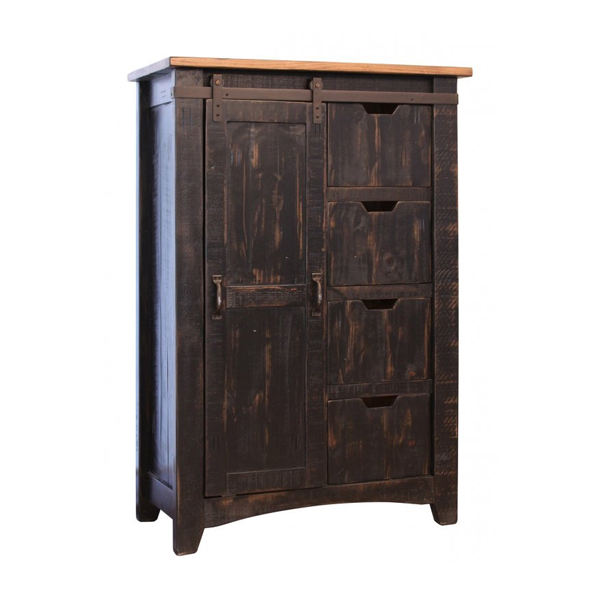 Pueblo Tall Barn Door Chest Generations Home Furnishings