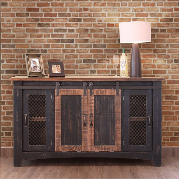 Pueblo Barndoor Media Console 59 W Generations Home