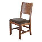 Parota Uph. Full Back Chair
